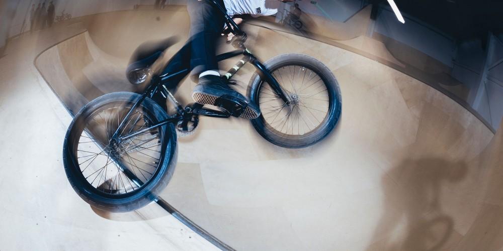 BMX at The Loading Bay Skatepark Glasgow